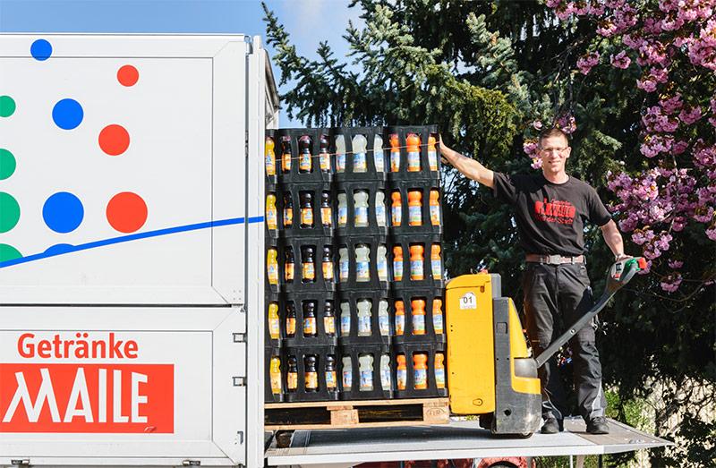 Getränke Maile: Getränkelieferservice für Ihre Firma